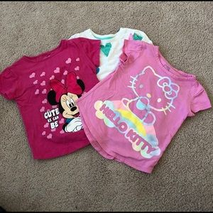 Other - T-shirts lot of 3 size 4t